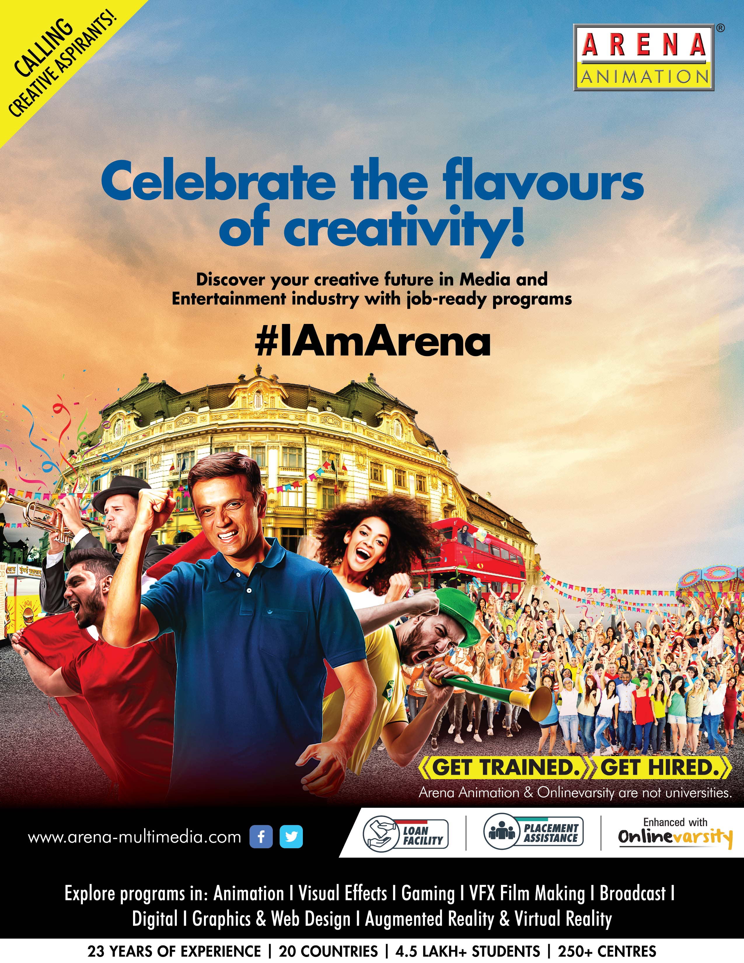 I AM ARENA BRAND CAMPAIGN RD R2 Indr Poster